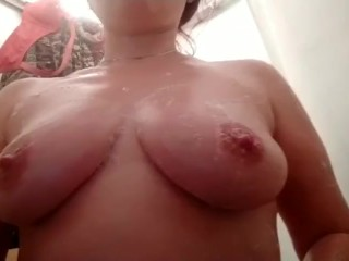 tits;natural;tits;shower;play;tits;mature;mature;tits,Amateur;Brunette;Mature;MILF;Russian;Solo Female Play with tits in shower, when...