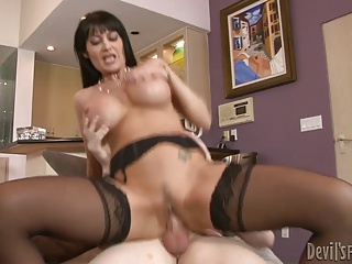 Big Boobs;Matures;MILFs;Pornstars;Old+Young;HD Videos;Rides Dick;Young Dick;Sexy Young;Sexy Dick;MILF Young;Sexy MILF;Young;Sexy;Anal Acrobats Sexy milf in stocking rides young dick