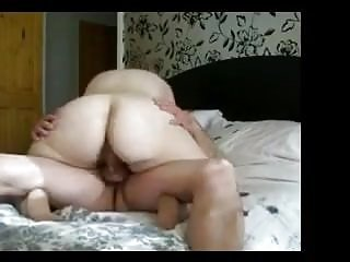 Matures;Cowgirl mewing pussy