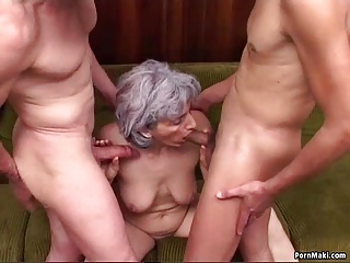 Anal;Double Penetration;Grannies;Matures;Old+Young;Real Granny Porn;Granny Double Penetration;Penetration;Double;Granny Granny Double Penetration