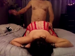 rough;adult;toys;butt;mom;mother;milf;doggystyle;doggy;anal;plug;hard;ass;slapping;ass;slap;boots;leather;boots;bodysuit;orgasm;couple,Amateur;Big Ass;Babe;Hardcore;Toys;MILF;Rough Sex;Female Orgasm She likes when I smack her ass. Your...