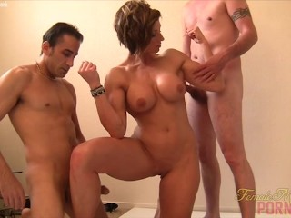 femalemusclenetwork;mom;mother;kink,Babe;Fetish;MILF Fit MILF Gets Her Biceps Fucked