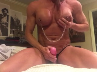 nipple;play;nipple;clamps;squirting;orgasm;toy;milf;bigtits;milf,Exclusive;Verified Amateurs;Solo Female Nipple clamps get me arroused. This...