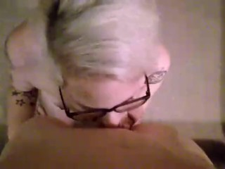 mom;mother;point;of;view;blowjob;glasses;milf;housewife;hotwife,Amateur;Blonde;Blowjob;MILF;POV;Tattooed Women Blonde Blowjob Part 1