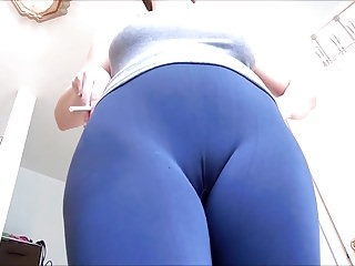 Matures;MILFs;HD Videos;Spandex;Pussy;Nicely nice CAMELTOE 108