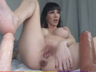 ass;fuck;kink;masturbate;adult;toys;mom;mother;anal;fisting;big;toys;big;toys;ass;milf;anal;amateur;milf;anal,Bondage;Fisting;Masturbation;Toys;MILF;Anal;Solo Female Hot spanish milf puts huge didlo into...