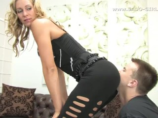 kink;ass;worship;ass;kissing;ass;kissing;slave;leggings;ass;worship;spandex;ass;worship;femdom;female;domination;humiliation;german;mistress;stariafetish;domination;knees;slave;submissive;worship,Fetish;MILF;Rough Sex;Role Play;Babysitter;German;Puss Ass worship femdom. Kiss my ass...